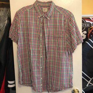 Old Navy Plaid Short-sleeve Shirt